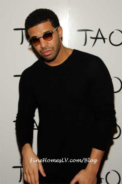 Drake On The TAO Red Carpet