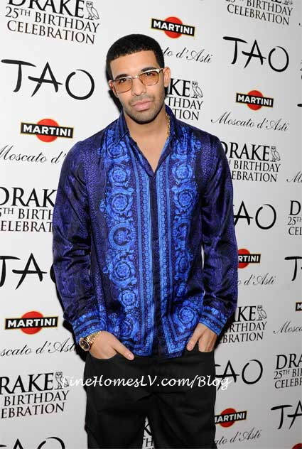 Drake On The Red Carpet At TAO