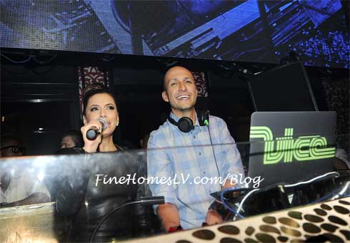 EVA Longoria and DJ Vice