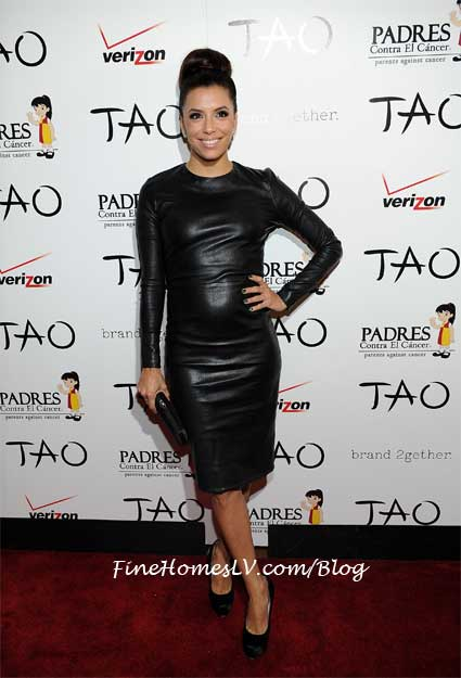 Eva Longoria On The TAO Red Carpet