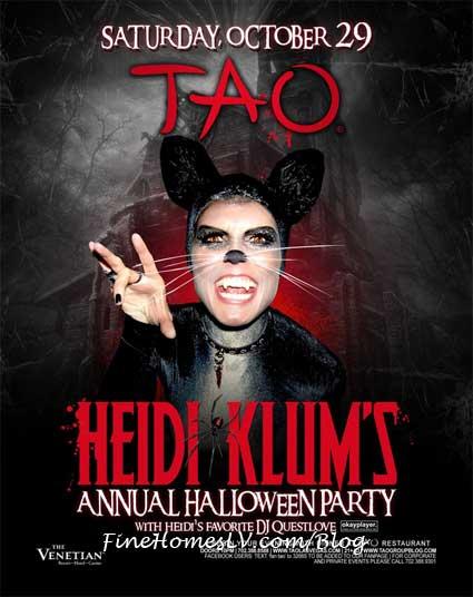 Heidi Klum's Halloween Party at TAO Las Vegas