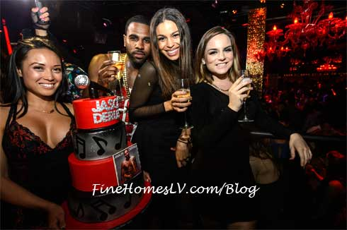 Jason Derulo, Jordan Sparks and Jojo at TAO Las Vegas