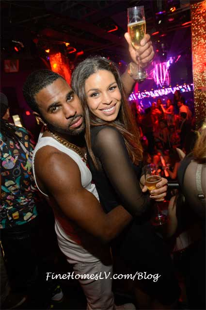 Jason Derulo and Jordin Sparks At TAO Nightclub