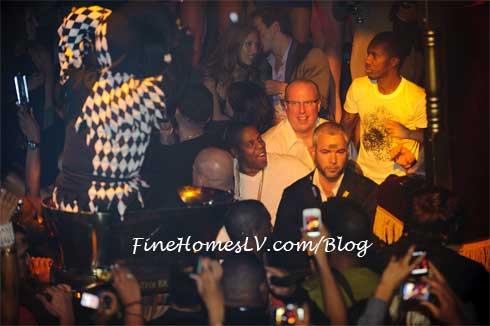 JAY-Z at TAO Nightclub