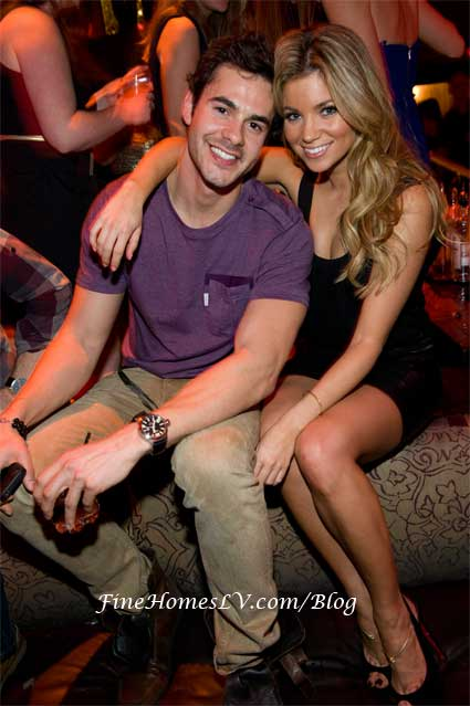 Jayson Blair and Amber Lancaster