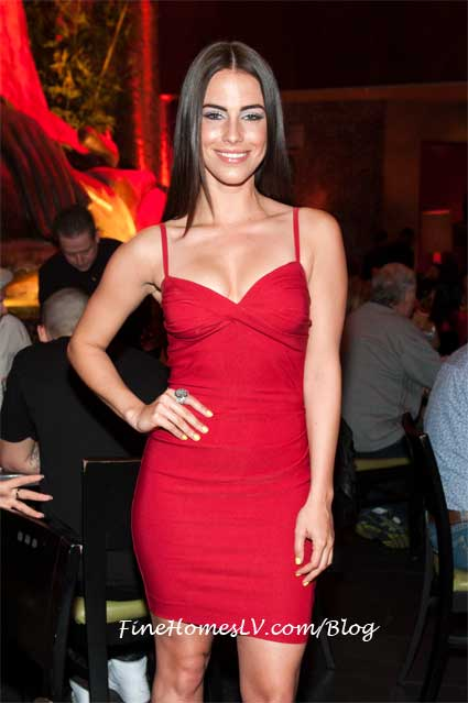 Jessica Lowndes at TAO