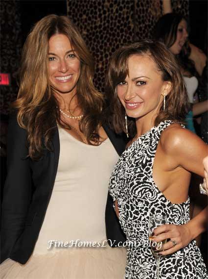 Kelly Bensimon and Karina Smirnoff