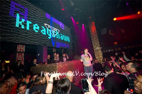 Kreayshawn at TAO Las Vegas