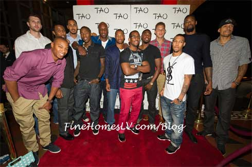 LA Clippers at TAO Red Carpet
