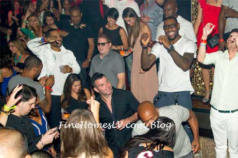 Lebron James at TAO Nightclub