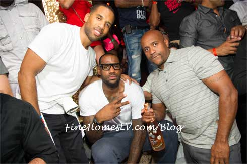 Lebron James and Friends at TAO