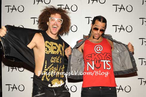 LMFAO On The Red Carpet at TAO