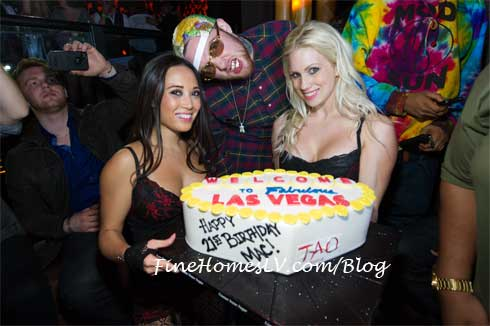 Mac Miller With Birthday Cake