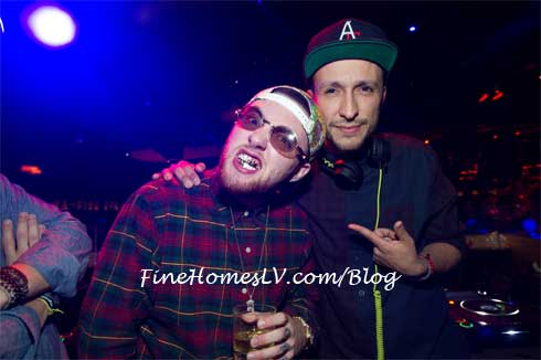 Mac Miller and DJ Vice