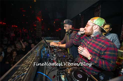 Mac Miller At TAO Nightclub