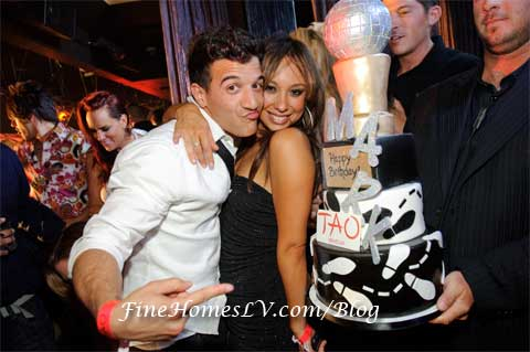 Mark Ballas and Cheryl Burke