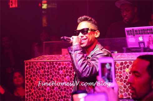 Miguel at TAO Nightclub