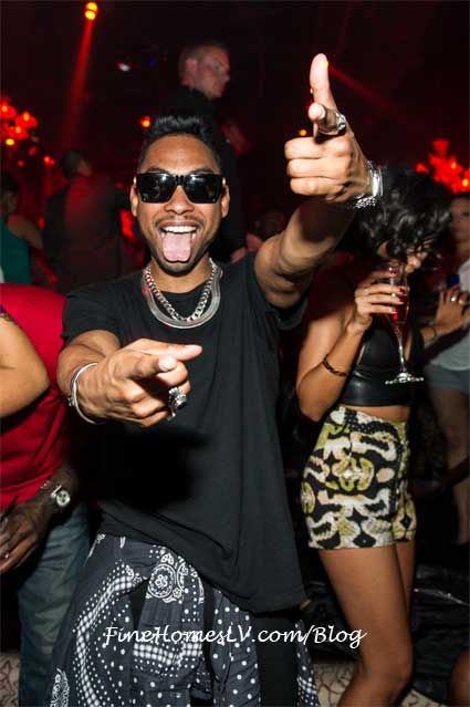 Miguel at TAO Nightclub