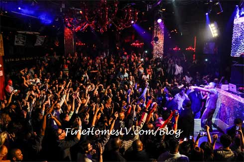 Nas at TAO Nightclub
