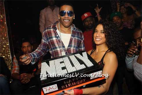 Nelly Birthday Cake