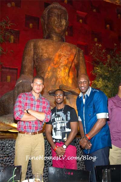 Chris Paul, Blake Griffin, Lamar Odom and Buddha