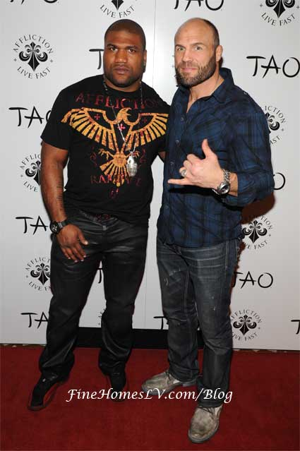 Quinton Jackson and Randy Couture