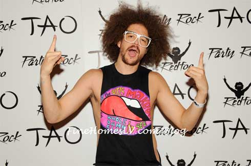 Redfoo on The Red Carpet at TAO