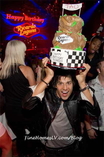 Ricardo Laguna and Birthday Cake