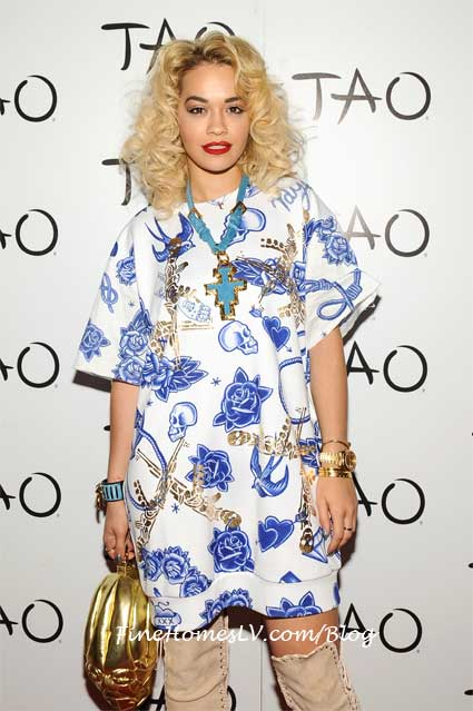 Rita Ora at TAO