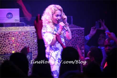 Rita Ora at TAO Nightclub