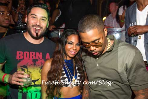 Nick Sakai, Ashanti, Nas at TAO