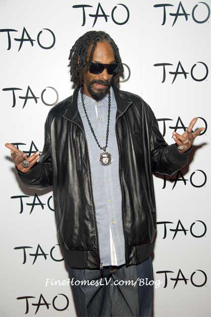Snoop Dogg at TAO Las Vegas