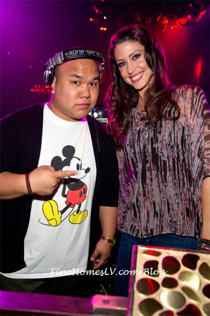 Shannon Elizabeth and DJ Five