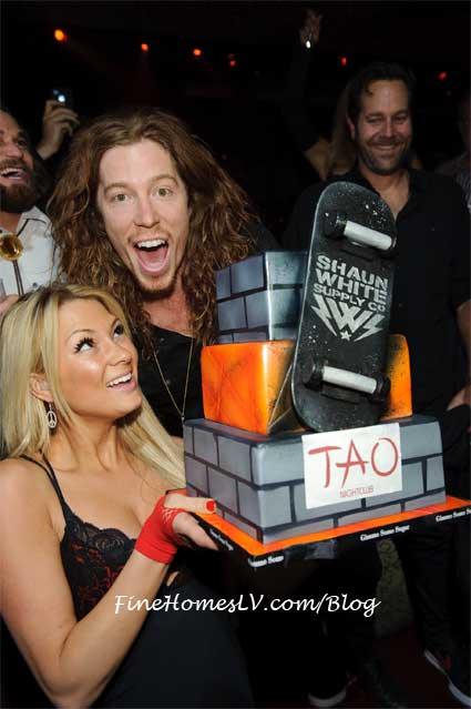 Shaun White at TAO Nightclub
