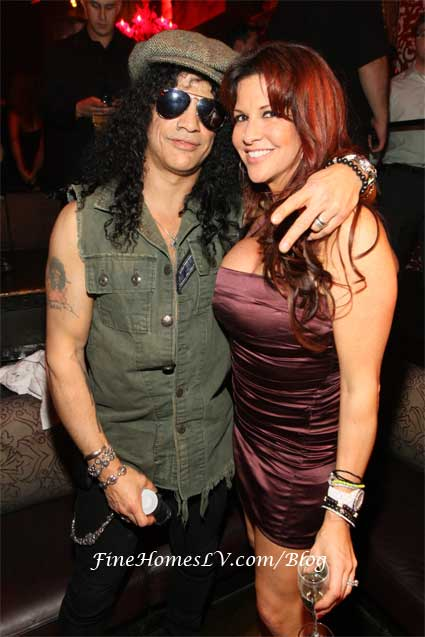 Slash and Perla at TAO