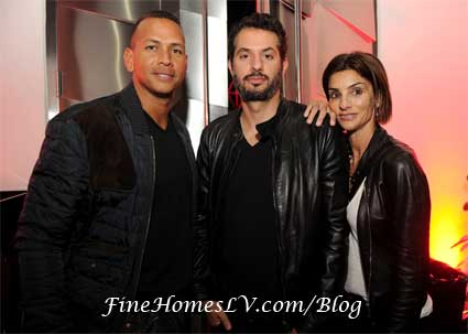 Alex Rodriguez, Guy Oseary and Ingrid Casares