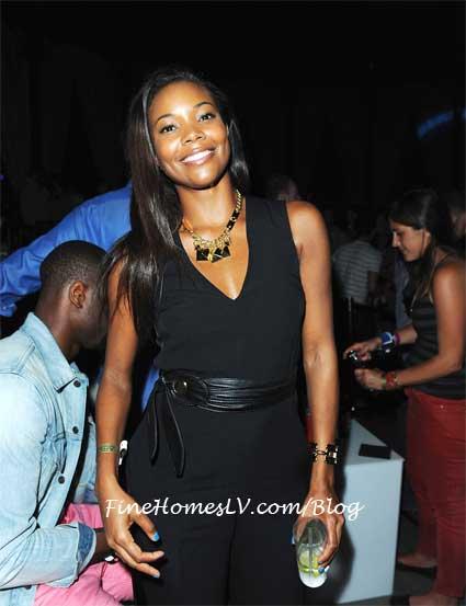 Gabrielle Union at Club Bud
