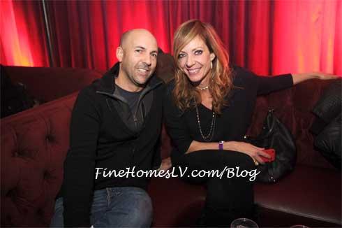 Chris Henze and Allison Janney