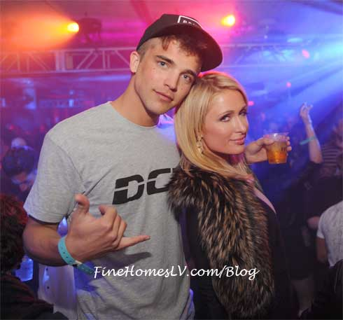 Rivers Viiperi and Paris Hilton