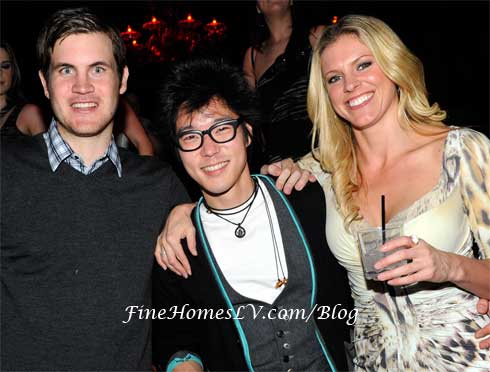 Director Jamie Linden, Aaron Yoo and Kelly Noonan