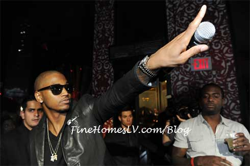 Trey Songz at TAO Nightclub