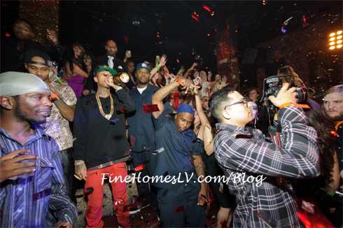 Tyga at TAO Nightclub