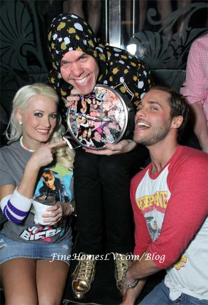 Holly Madison, Perez Hilton and Josh Strickland
