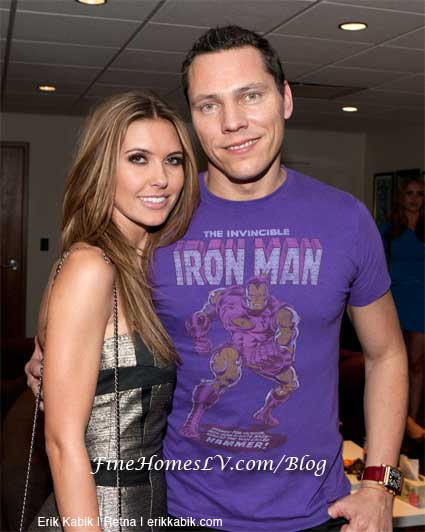 Audrina Patridge and DJ Tiesto
