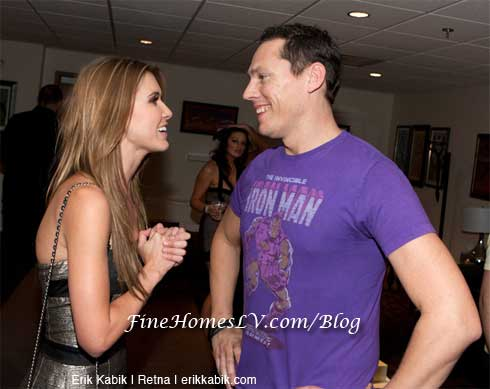 Audrina Patridge and Tiesto