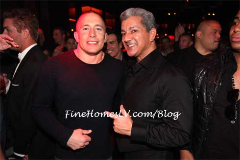 Georges St Pierre at Tryst