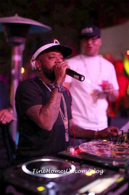 Jermaine Dupri At Tryst DJ Booth