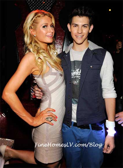 Paris Hilton and Nick Hissom