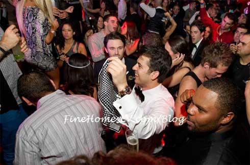 Rob kardashian at Tryst
