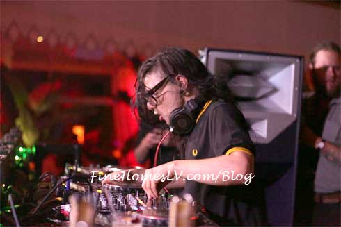 Skrillex at Tryst Nightclub